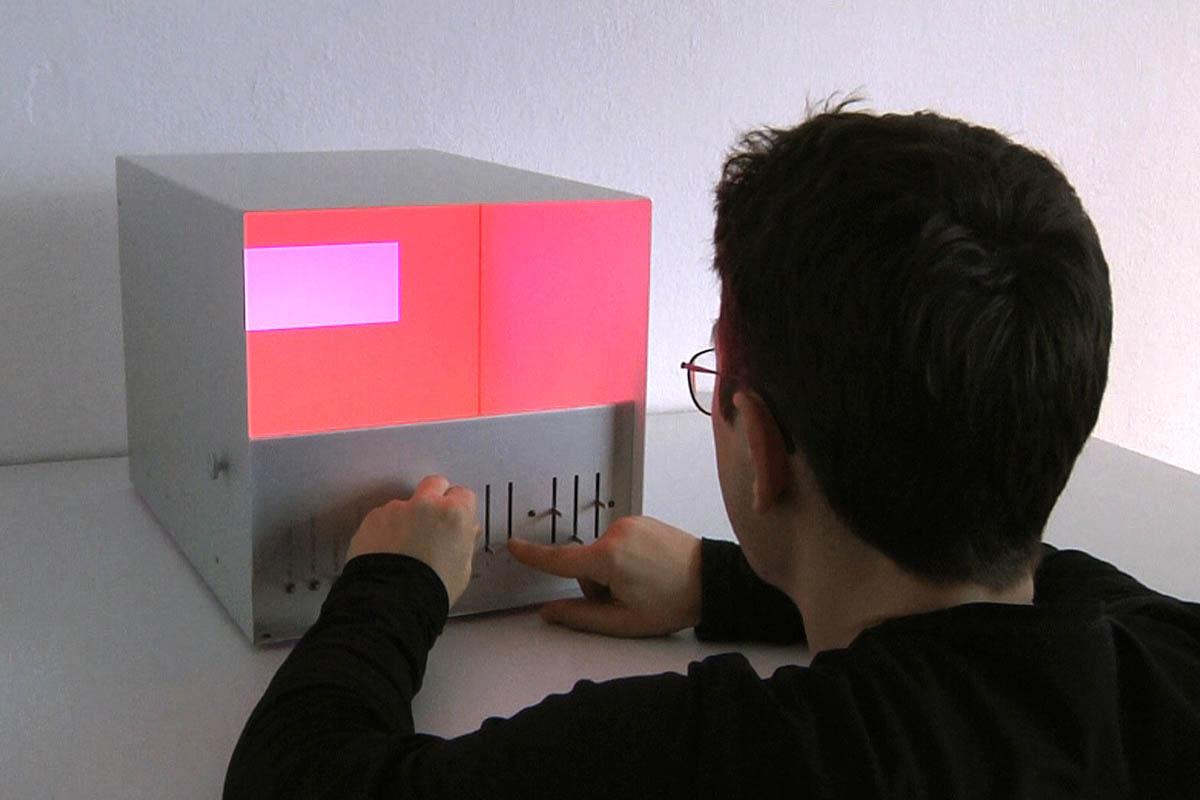 Farb-Licht-Box