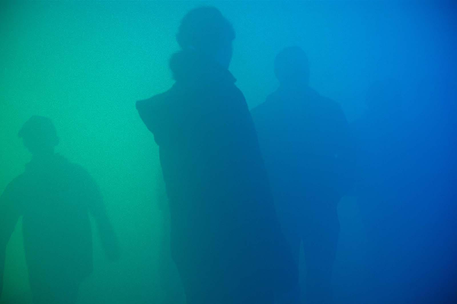 Farb-Licht-Nebel