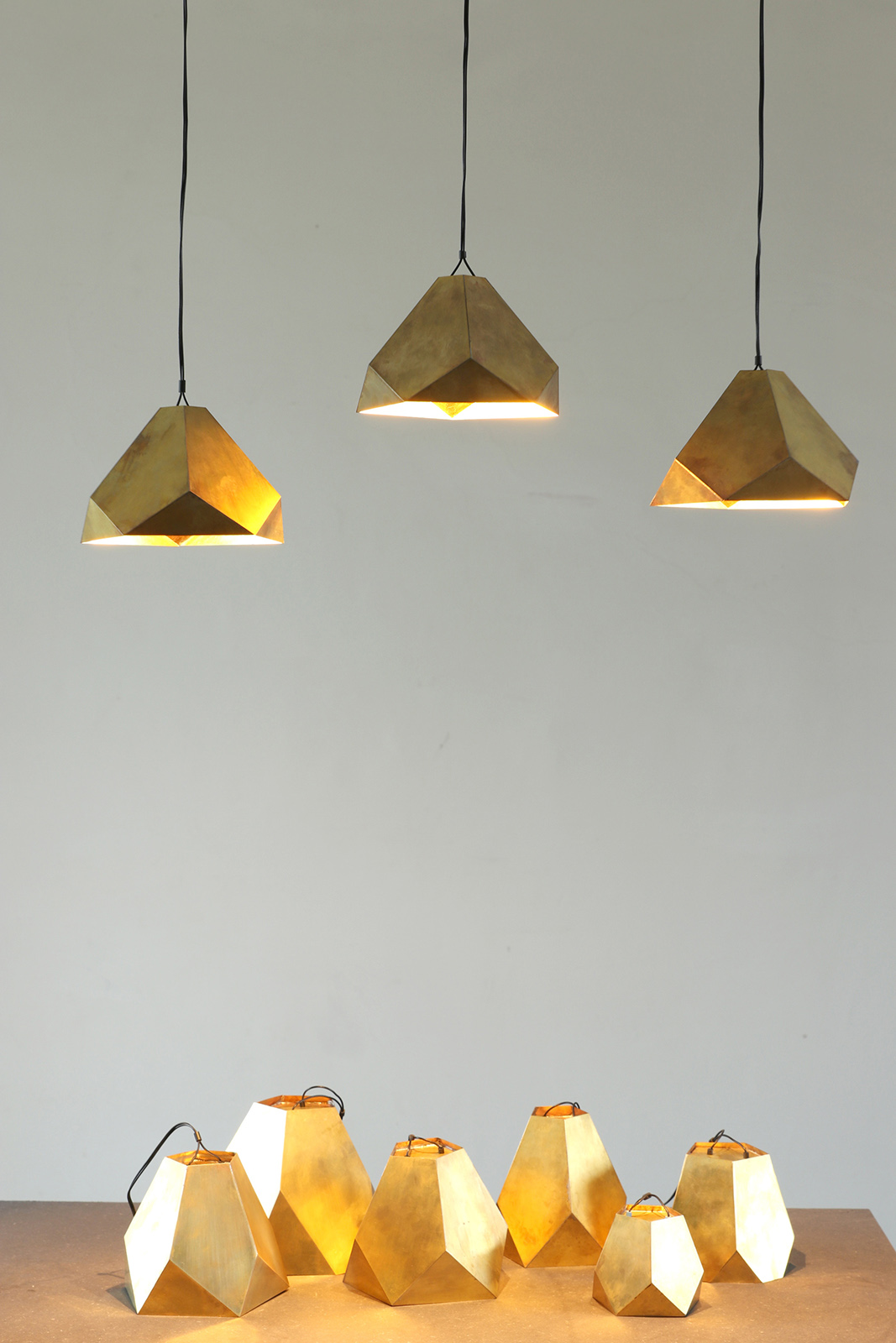 Brass-Lamps